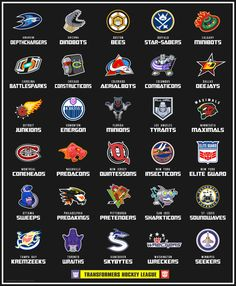 Posts about Transformers written by Dave Delisle Hockey Logos, Nhl Logos, Hockey Teams, Hockey Stuff, Sports Logos, Transformers Characters, Marvel Characters, Transformers G1, Hockey Pictures