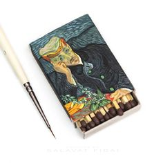 Salivate Fidai Recreates Vincent van Gogh...