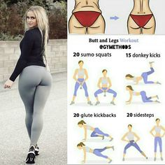Healthy | Physique | Tips Butt and legs workout! Follow us (@gymethods) for the best daily workout tips ⠀ All credits to respective owner(s) // DM Tag a friend who'd like these tips