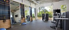 Fitness Center at apartments in Glendale, CA