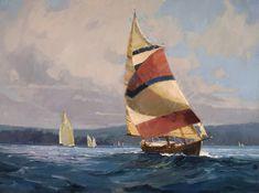 Lisa sail painting copy