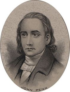 John Penn, an attorney in Williamsborough, NC, represented North Carolina in signing both the Articles of Confederation and the Declaration of Independence. His grave is in the Guilford Battleground Park in Greensboro, NC.