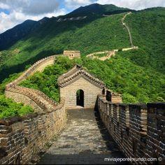 Caminando en la Gran Muralla China