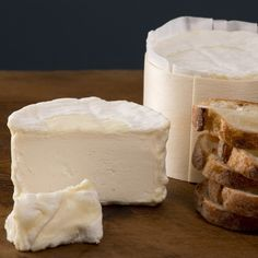 """Delice de Bourgogne. """"A tribute to small scale industrial French cheese-making....producing an unapologetically rich, whipped delight."""""""