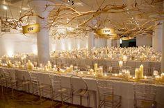 Earthy wedding decorations