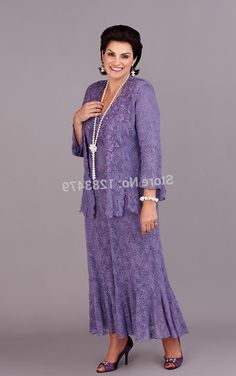 Hot selling Short Tea length Plus Size Mother of the Bride Groom Dresses With Jacket Long
