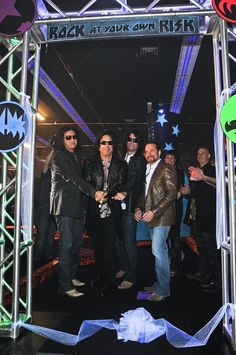 KISS Band Members Open KISS by Monster Mini Golf in Las Vegas