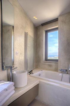 YouPhoria Villa bathroom Corner Bathtub, Bathroom, Building, Design, Washroom, Full Bath, Buildings