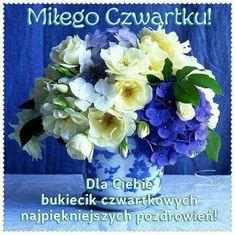 Hydrangea Flower, Flowers, Floral Arrangements, Flower Arrangement, Good Morning, Origami, Beautiful Things, Thursday, Indoor