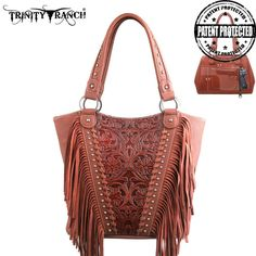 Concealed Handgun Tote - Trinity Ranch Collection - TR12G-8237