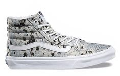 9a3aacc09d29 Vans The Hi Slim a slimmed down version of the legendary Vans laceup high  top features sturdy canvas uppers signature rubber waffle outsoles and  padded ...