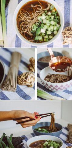 Vegan Toshikoshi Soba Soup | Zucker&Jagdwurst