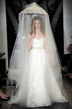 Reem Acra Bridal Spring 2014 - Slideshow - Runway, Fashion Week, Reviews and Slideshows - WWD.com