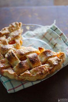 A Cozinha Coletiva: Torta de Pêssegos!