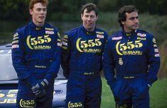 Richard Burns, Colin McRae, Carlos Sainz, 555 Subaru Team 1995
