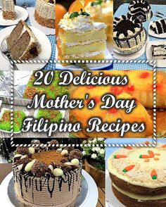 It's Mother's Day again, treat her with a delectable Filipino dish from our 20 D. - It's Mother's Day again, treat her with a delectable Filipino dish from our 20 Delicious Mother - Filipino Dishes, Filipino Desserts, Filipino Recipes, Greek Recipes, Filipino Food, Asian Recipes, Delicious Desserts, Dessert Recipes, Yummy Food