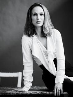 Natalie Portman for the September 2016 issue of Vanity Fair shot by Jason Bell.