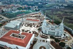 Rome LDS Temple: See the First Aerial Photos + More Rare Pictures of the Temple Lds Temples, Rare Pictures, Latter Day Saints, Italy Vacation, Rome Italy, Aerial View, Dream Vacations, Paris Skyline, Places To Go