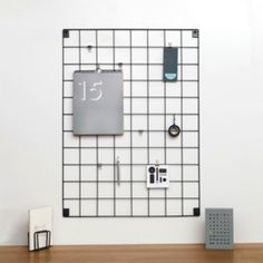 Featuring clean lines, the Wire Mesh Memo-Board is a unique organisational tool and the ideal vehicle for your creativity. Wire Mesh Memo-Board can Wire Memo Board, Magnetic Memo Board, Memo Boards, Grille Photo, Metal Grill, Polaroid, Office Stationery, Wall Organization, Wire Mesh