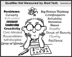 Qualities I want to develop