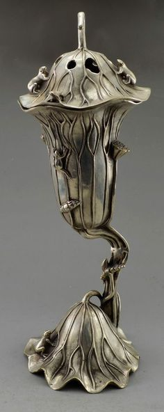 incense holder Antique stoneware asian frog