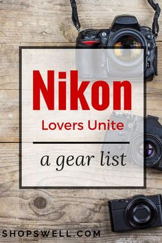 Nikon lovers - what is on your list of essential photography gear? Here's a list featuring some great lenses, a tripod, and other gear to take with you on your next photo shoot.