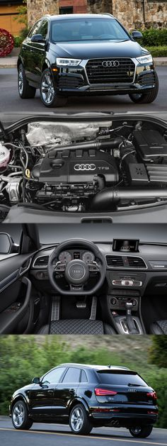 How will Make you Crazy? For more information visit link: www.enginecompare… - Cars and motor Audi Q3, Image Pinterest, Allroad Audi, Audi Wagon, Black Audi, Suv Cars, Power Cars, Audi Sport, Car Hacks