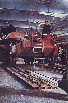 German World War 2 Colour Panzer V Panther Tank During Production
