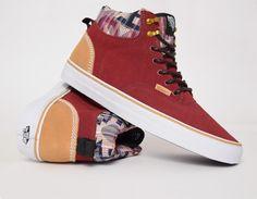 Vans Era Hi CA Suede Burgundy  sneakers Streetwear b4748d345