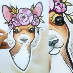 #doe #neo #traditional #new #traditional #tattoo #design