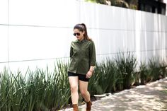 Outfit Ideas + Fashion Blogger Style + Street Style + Statement Jacket + Ankle Boots Outfit