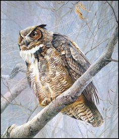 Robert Bateman painting