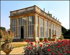 Orangery, Belton House, Belton, Lincolnshire (by Lincolnian (Brian)) What Is A Conservatory, Belton House, Beautiful Homes, Beautiful Places, Jardin Decor, Italian Garden, English House, Garden Structures, Glass House