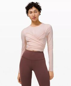Gather and Grow Long Sleeve | Women's Long Sleeve Tops | lululemon Lazy Outfits, Casual Outfits, Long Sleeve Tops, Long Sleeve Shirts, Bikinis For Sale, Travel Clothes Women, Plus Size Tops, Running Women, Latest Fashion Trends