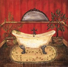 Bath in Red II (Grace Pullen)