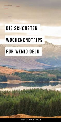 Out of the ordinary and into the adventure! With these 5 cheap weekend trips, there's nothing in the way of your short trip adventure. Micro-adventures I Low-budget I Short trip I Short trip I Weekend trip I Europe City break I Cheap holiday I Tr