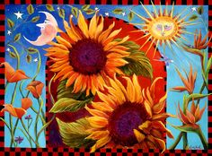 Celebrating the Summer Solstice. The longest day of the year is today, June The Summer Solstice. Vincent Van Gogh, Sunflower Art, Sunflower Quotes, Summer Solstice, Solstice 2016, Happy Solstice, Happy Summer, Summer Fun, Back To Nature