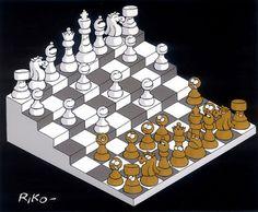 El espejo lúdico: El ajedrez de la vida