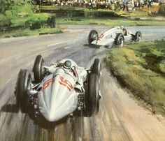 1938 German GP Bernd Rosemeyer in Mercedes