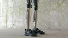 NIKE robotic sneakers by simeon georgiev