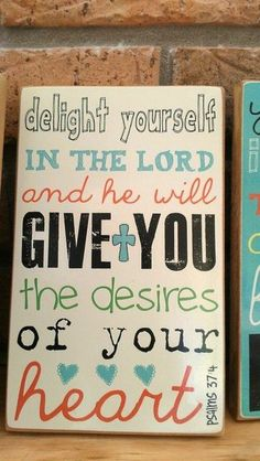 Write your favorite scripture on a canvas for ...