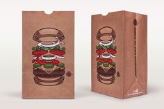 amazing burger king packaging by David Iglesias