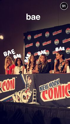Pretty Little Liars Comic Con