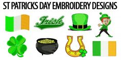 Free St Patrick's Day Embroidery Designs Embroidery Designs, St Patricks Day, Cross Stitch Patterns, Coloring Pages, Holidays, Wallpaper, Crafts, Free, Fictional Characters