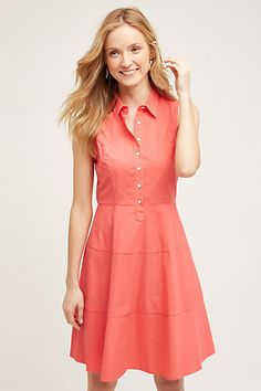Edina Poplin Shirtdress