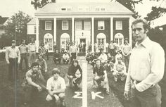 Sigma Nu fraternity 1974-75. From the 1975 Oregana (University of Oregon yearbook). www.CampusAttic.com
