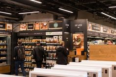Inside Amazon Go a Store of the Future The technology inside Amazons new convenience store opening Monday in downtown Seattle enables a shopping experience like no other  including no checkout lines.  Technology Shopping and Retail Computers and the Internet Customer Relations Shoplifting and Employee Theft (Retail)