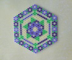 Flower Coaster Hama Beads by TCAshop