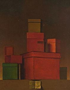 ocherland: Claudio Bravo -Cajas, 1966