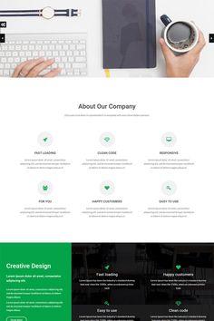 Luisa - Multipurpose Website Template Big Screenshot